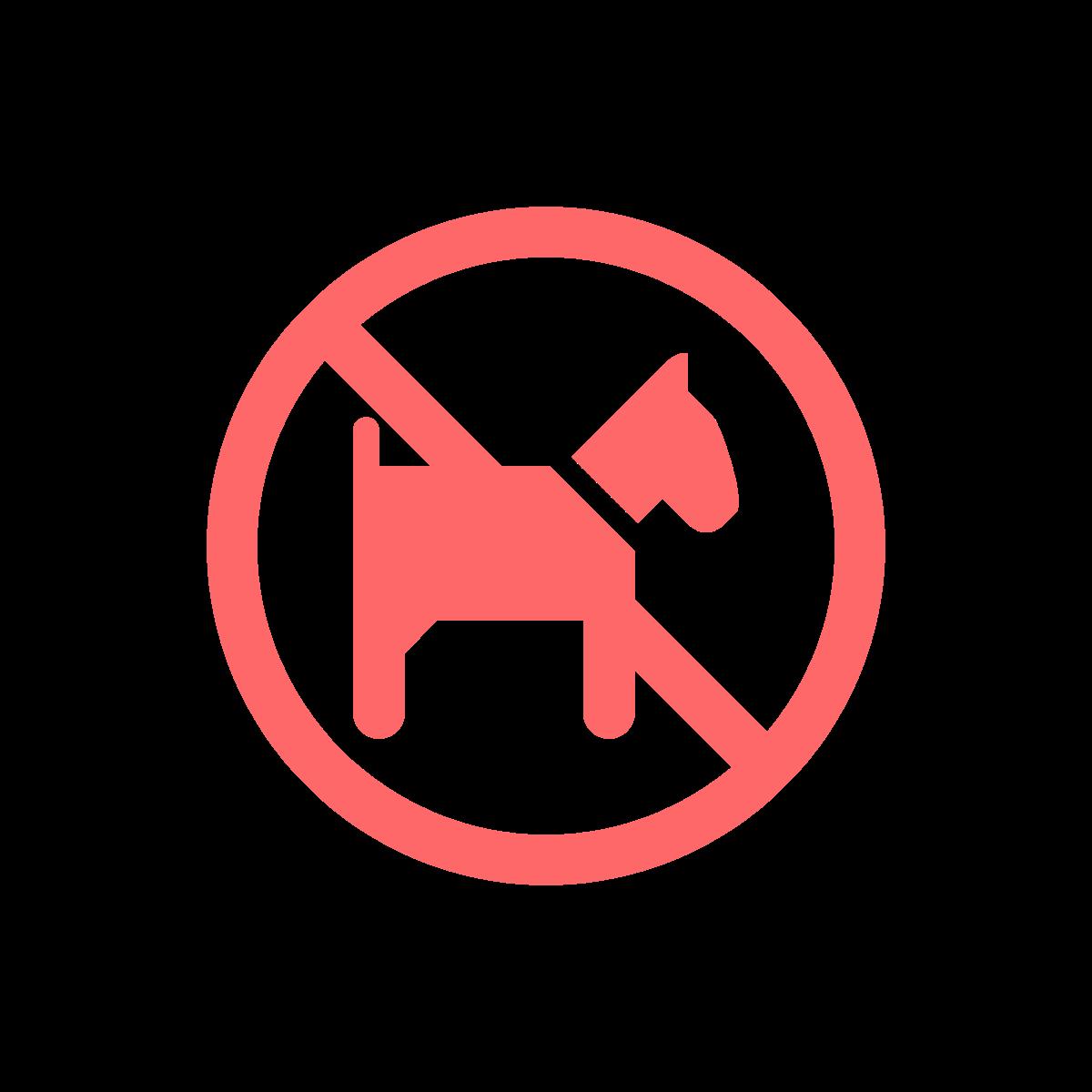 No Pets Policy